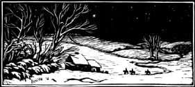 P208 The Three Kings Christmas Card